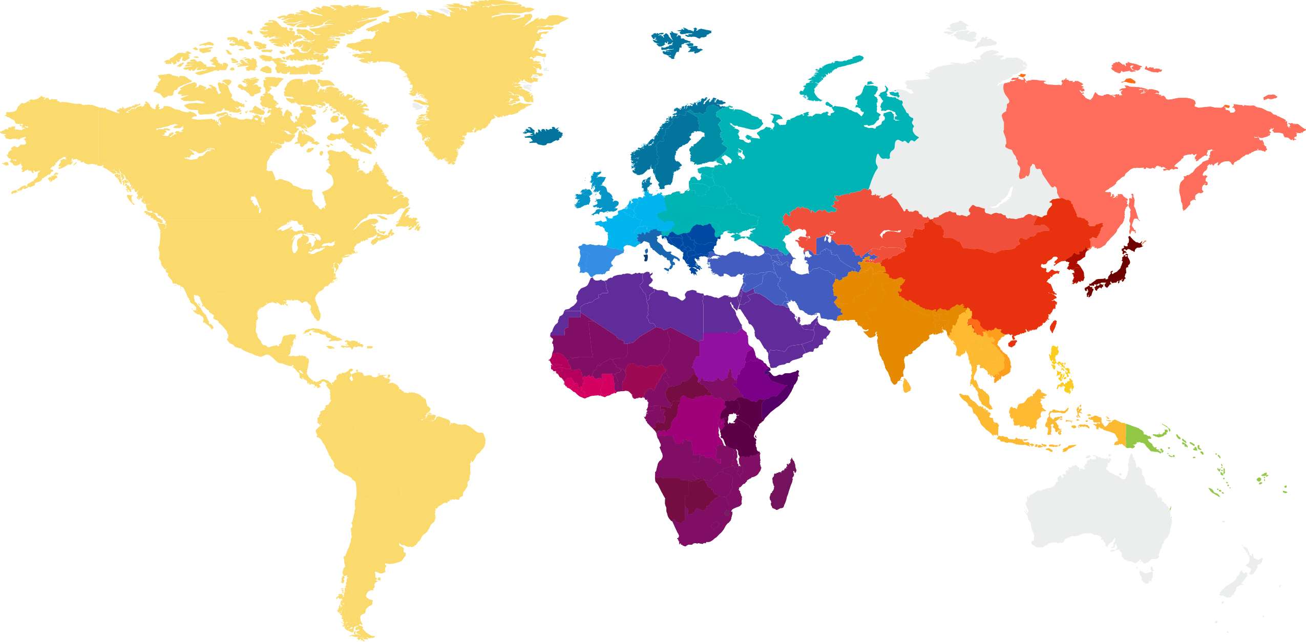 Ancestry Composition Map